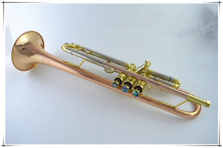 2017 American Bach trumpet instrument LT180S-39 B flat phosphor bronze trumpet beginner Grading professional