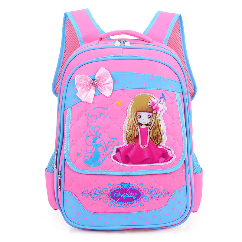 2018 New Fashion School Bags for Boys Girls Brand Children Backpack Student Book Bag Wholesale Large Capacity Kids Schoolbag