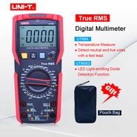 UNI T UT89X/UT89XD true RMS Digital multimeter 20A high current digital multimeter NCV/capacitor/triode/temperature/LED test