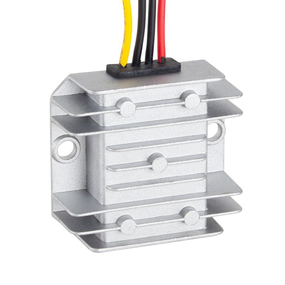 Impermeabile Voltage Regulator Module Convertitore Step Up DC 12 V a DC 48 V 1A 48 W Potenza Impulso Trasformatore