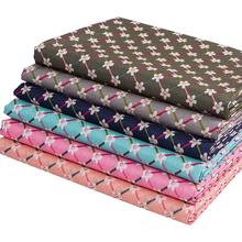 Bardzo tanie tkane poliester drukuj materiał w kwiaty dla majsterkowiczów patchwork obrus tanie sprawdź tkaniny do szycia z wyczuciem jest szorstki T7871 tanie tanio Oddychające Tkaniny przewód opon Wątek 150cm Inne tkaniny 100 poliester Drukowane Zwykły Wirowo sofa bag table cloth