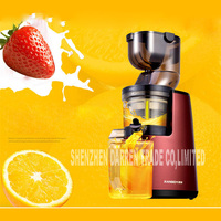New Arrival Large Wide Mouth Feeding Chute Whole Apple Slow Juicer Fruit Vegetable Citrus Juice Extractor