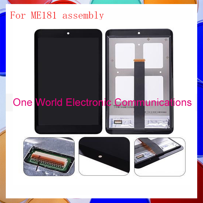 ФОТО original Top quality Lcd Assembly LCD Digitizer Touch Screen Complete With Frame For ME181 tools Replacement  with free ship