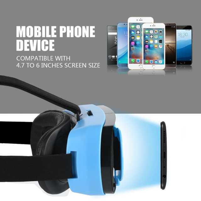 MINI VR Glasses 3D IMAX Videos Virtual Reality Glasses Phone 3D Viewer for  iOS and Android