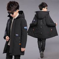Boys Down Jackets 2020 Winter Jacket For Boys Warm Hooded Outerwear Coat Kids Parkas For Boys Clothes Children Jacket 10 12 Year
