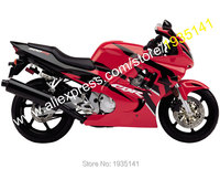 Hot Sales,For Honda CBR600F3 1997 1998 CBR 600 F3 Cowl CBR600RR CBR 600F3 Red/Black ABS Motorcycle Fairings (Injection molding)