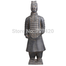 New Terracotta crafts ornaments Qin Terracotta Warriors and Horses handmade souvenir China antique imitation soldier sculpture