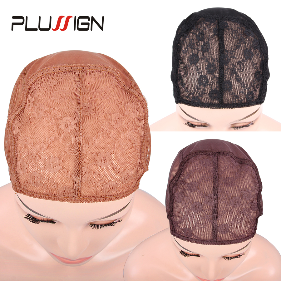 20Pcs Bulk Sell Wig Making Tools Lace Wig Cap Weave Cap For Making Wigs U Part