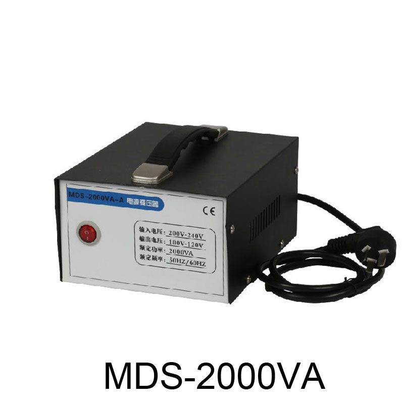Voltage converter 220v to 110v transformer 2000VA 2KW appliances Power converter Toroidal Transformer by DHL voltage converter input 110v output 9v and 22v 50w electrical transformer custom transformer
