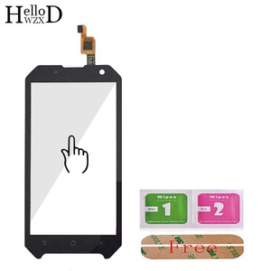 Image 3 - Mobile Front Touch Glass For Blackview BV6000 BV 6000 Lens Sensor Touch Screen Digitizer Panel Adhesive + Screen Protector Gift