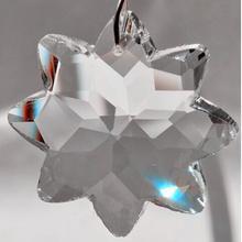 100 шт./лот 50 мм Кристалл 8 заостренный START стекло SUNCATCHER Призма Подвеска Прозрачный Цвет