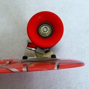 Image 2 - Spider Người Đàn Ông Đồ Họa Đầy Màu Sắc 22 Mini Skate Penny Board Trẻ Em Nhựa Fishboard Cruiser Hoàn Thành Retro Banana Ván Trượt Patins