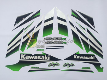 Motorcycle high quality sticker 3M racing decorative  fit for 2015 Kawasaki-NinjaZX10R 30thAnniversary