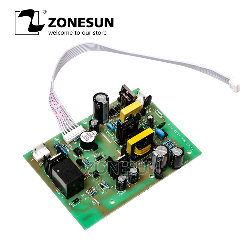 ZONESUN Circuit Board for GFK-160 liquid filling machine zonesun pneumatic a02 new manual filling machine 5 50ml for cream shampoo cosmetic liquid filler