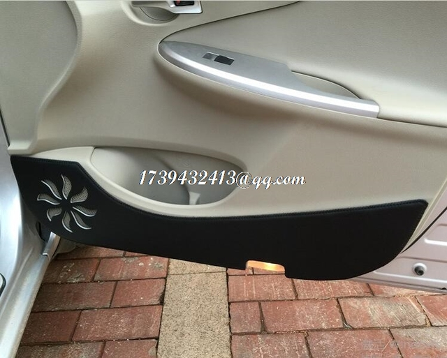 car door anti-kick protection accessories for toyota corolla axio 2006 2007 2008 2009 2010 & car door anti kick protection accessories for toyota corolla axio ...