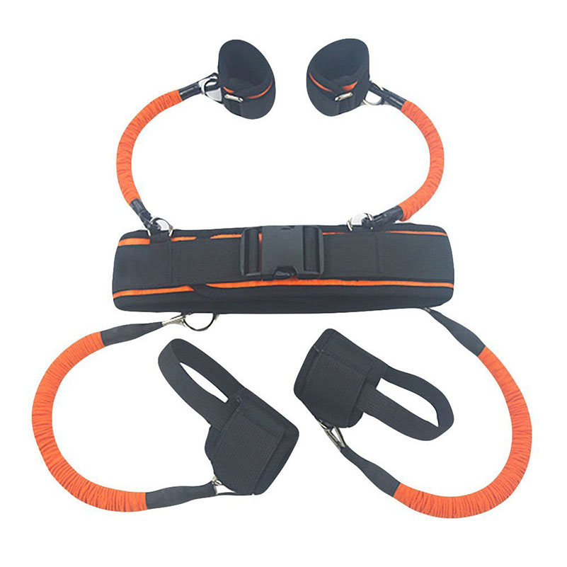 Sports & Entertainment Sensible Latex Jumping Resistance Band Basketball Training High Jump Trainer Strap Fitness Equipment Leg Strength Training Rope Belt To Have A Long Historical Standing Resistance Bands