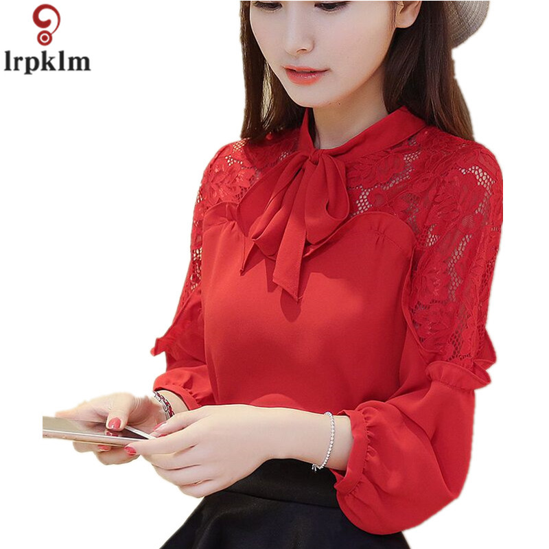 ⃝Women Sexy Chiffon Blouses 2018 Summer New Pure color ...
