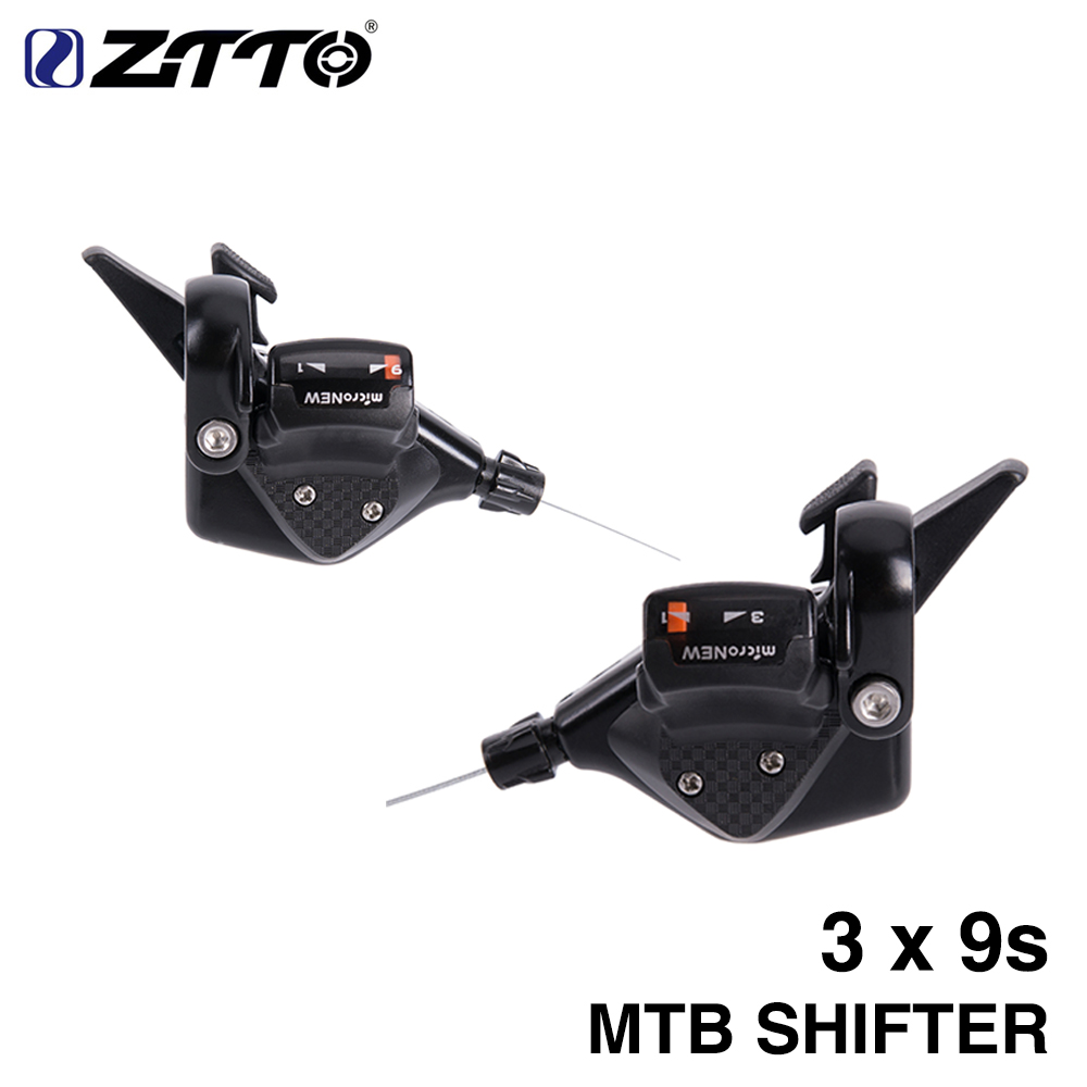 Bicycle MTB 3X9s 27s Speed Shifter Lever Trigger Left & Right for micronew R50 R70 Parts m4000 m370 m430 m590 system цена
