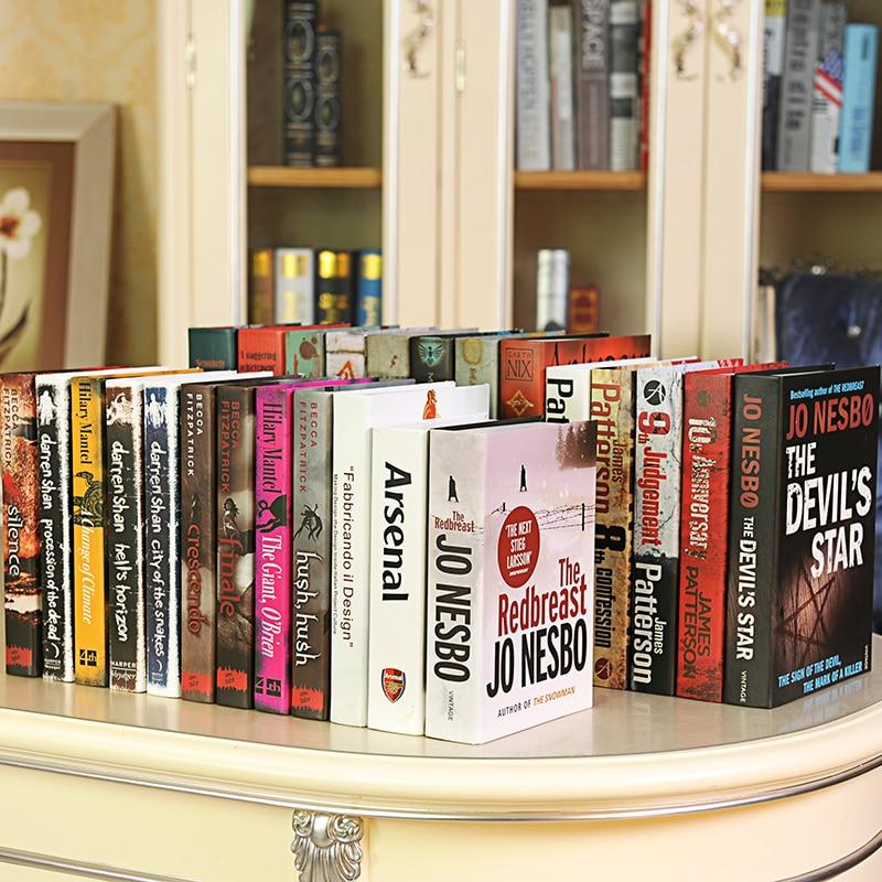 10 St Boek Omina Moderne Fotografie Studie Simulatie Boekenkast Rekwisieten Simulatie Nep Box Mold Boek Decoratie Mooi En Kleurrijk