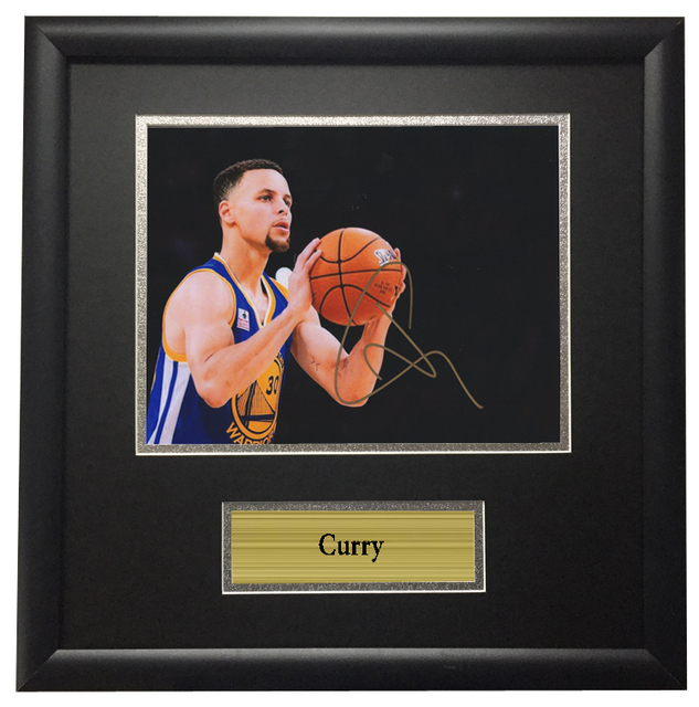 f282bb7add4 Memorabilia Stephen Curry Golden State Warriors NBA come with SA COA autographed  signed Photo Framed