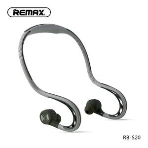 Image 1 - Remax S20 sport auricolare In ear cuffie bluetooth 4.2 auricolari Stereo Super Bass con isolamento acustico cuffie per telefono cellulare/pc