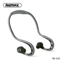 Remax S20 sportowe słuchawki douszne słuchawki z bluetooth 4.2 Super Bass Stereo zatyczki douszne chroniące przed hałasem słuchawki na telefon komórkowy/pc