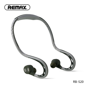 Image 1 - Remax S20 sports In ear Earphone bluetooth Headphone 4.2 Super Bass Stereo Noise Isolating Earbuds Headsets for Mobile Phone/pc
