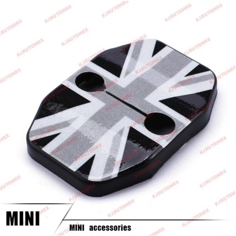 Автомобильный Стайлинг для Mini Cooper F55 F56 дверной замок с пряжкой защитная оболочка персональные аксессуары - Название цвета: grey jack