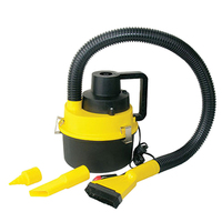 12V 90W Power Car Vacuum Cleaner Wet Dual Purpose Portable Vehicle Cleaner May18 2