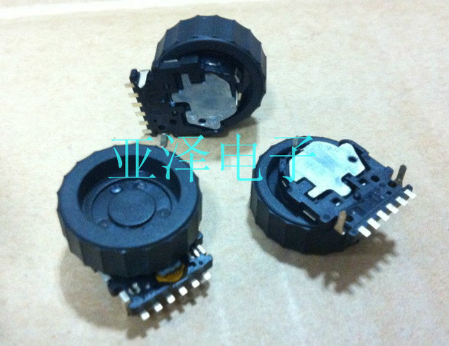 2PCS/LOT EVQWKL001 pulley encoder, dial roller, coding switch 12, positioning number belt press switch