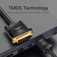 HDMI to DVI Cable 1m 2m 3m 5m DVI-D 24+1 Pin 4
