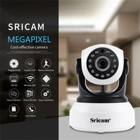Sricam Wireless IP Camera 720P HD Wifi Surveillance Security Camera Pan Tilt Network Video Monitoring With