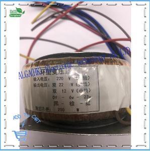 Image 1 - Peak power 120w 150w 200w 300w 500w 1600w Ring transformer toroidal Power Amplifier Transformer dual 12V 15V 17V 22V 24V 25V 30V