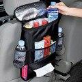 Isolado Leite Materno Saco de Armazenamento Assento de carro de Volta Organizador Do Assento voltar Suporte para Bebidas Refrigerador Saco Fresco Garrafa Envoltório com Malha bolsos