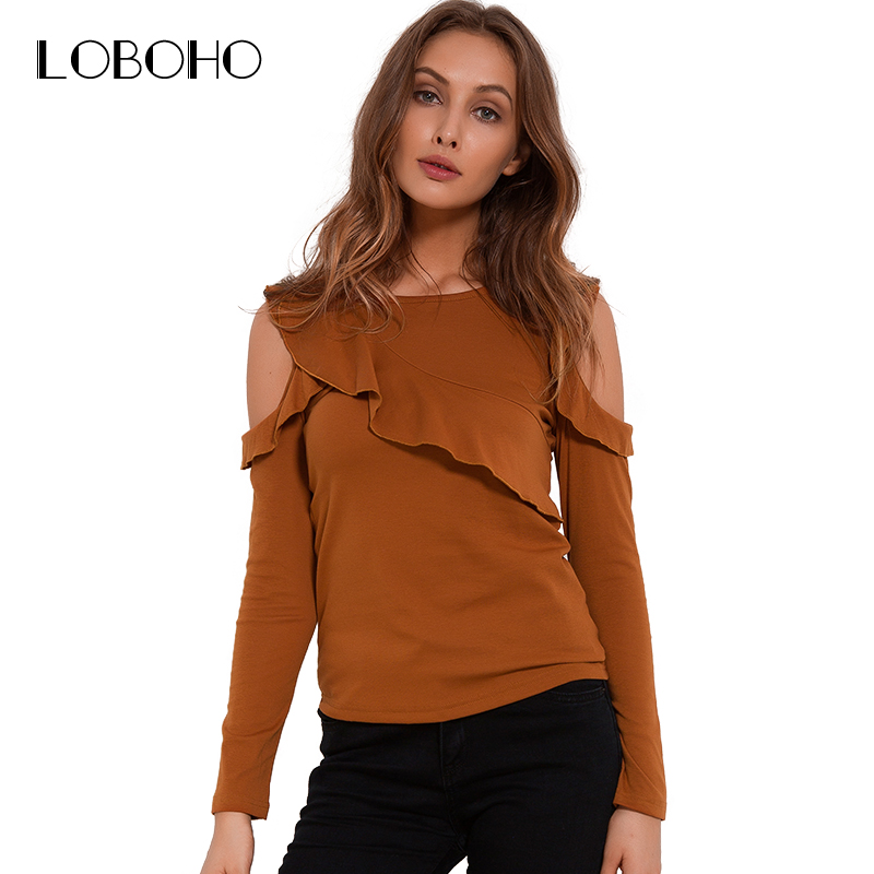 Long sleeve t shirt autumn 2017 fashion casual cold for Long t shirt trend