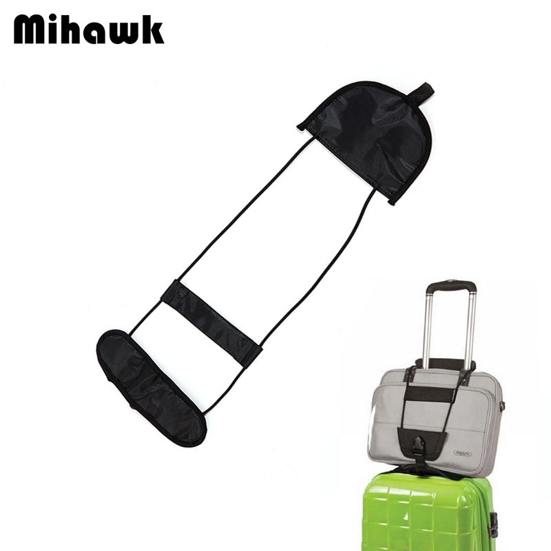 Mihawk Elastic Telescopic Luggage Strap Parts Suitcase Fixed Belt Travel Bag Parts Adjustable Security Items Gear Supplies Stuff