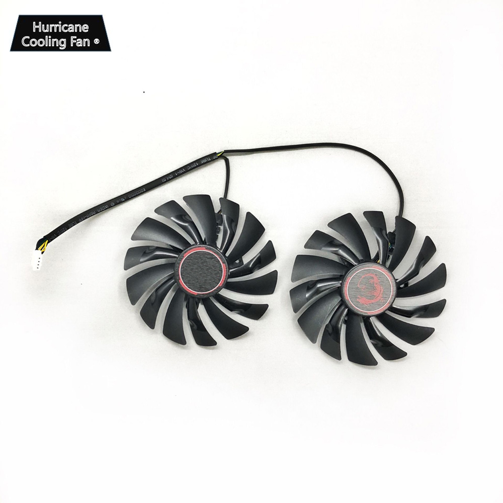 Image 2 - PLD10010S12HH 94mm 12V 0.4A 4Pin Video Card Cooling Fan for MSI GTX960 GTX950 R9 380 390 X 470 480 570 GTX 1060 1070 1080 GAMING-in Fans & Cooling from Computer & Office