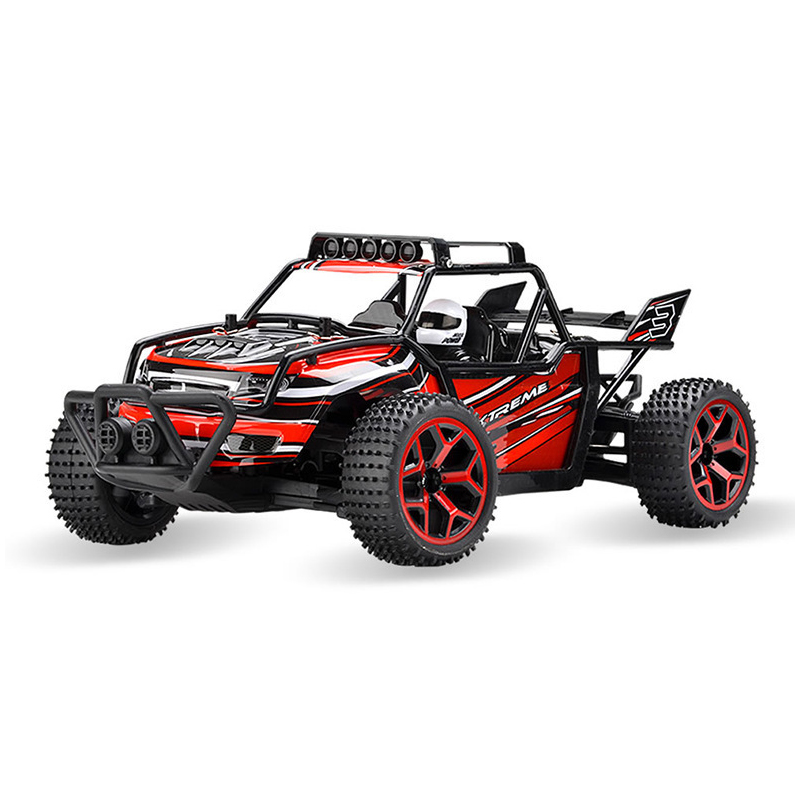 2.4G Highspeed 4CH Electric RC Cars Remote Control Car SUV Damping Car Toy 20-30KM/H off-road Remote Car Model For Children Gift