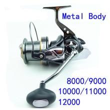 AFL 8000 9000 10000 11000 12000–11BB 4.7:1 Surf Casting Reel Long Shot Wheel Full Metal Spinning Fishing Reel Sea Reels