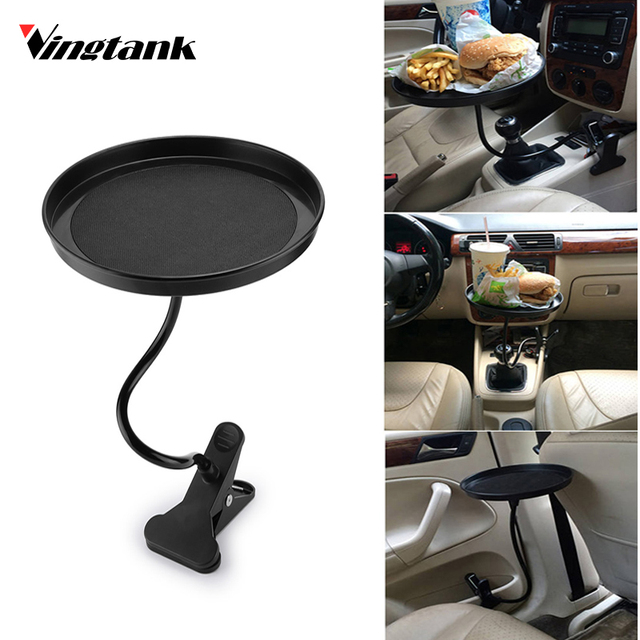 Vingtank Universal Car Food Drink Cup Tray Coffee Table round Table