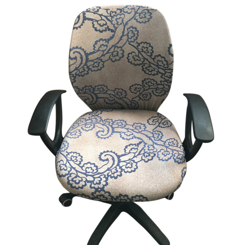 Computer Chair Coverings Office Chair Covers Flower