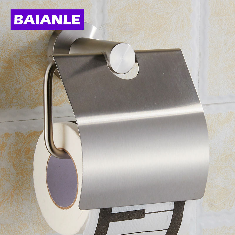 Buy Hot Sell Bathroom Accessories Stainless Steel Finish Toilet Paper Holder