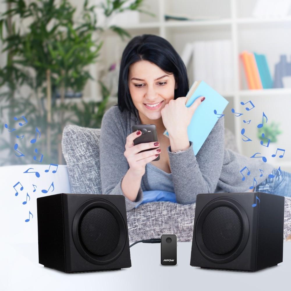 Mpow MBR1 mini Bluetooth 4.0 prijemnik zvučnik bežični adapter 3.5 - Prijenosni audio i video - Foto 2
