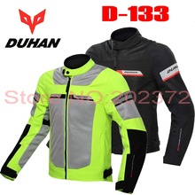 2017 Summer mesh motorcycle riding Jacket clothes motocross motorbike jackets clothing mad of Polyester have black green color