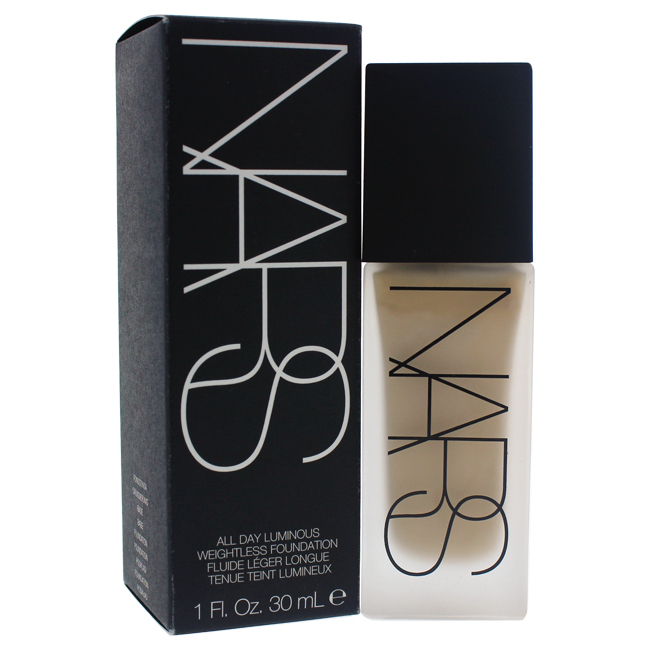 All Day Luminous Weightless Foundation - # 3 Gobi/Light by NARS for Women - 1 oz Foundation tint du soleil whipped foundation spf 30 light by colorescience for women 1 oz foundation