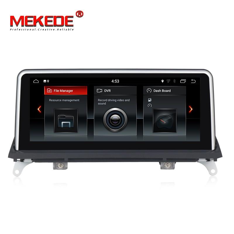 Vendita calda! Quad core 2 gb di RAM 32 gb di ROM gps per auto di navigazione autoradio player per BMW X5 E70/X6 E71 (2007-2013) CCC/CIC sistema