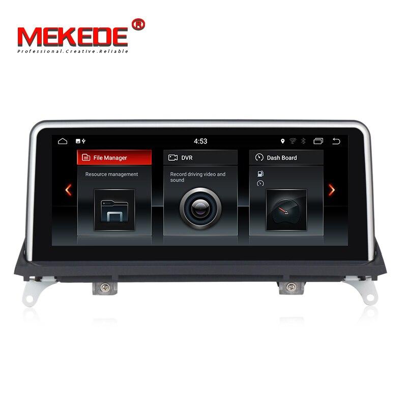 Vente chaude! Quad core 2 gb RAM 32 gb ROM voiture gps navigation autoradio lecteur pour BMW X5 E70/X6 E71 (2007-2013) CCC/CIC système