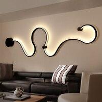 Lámparas de araña Led acrílicas modernas para sala de estar dormitorio techo interior lámpara accesorios para el hogar iluminación