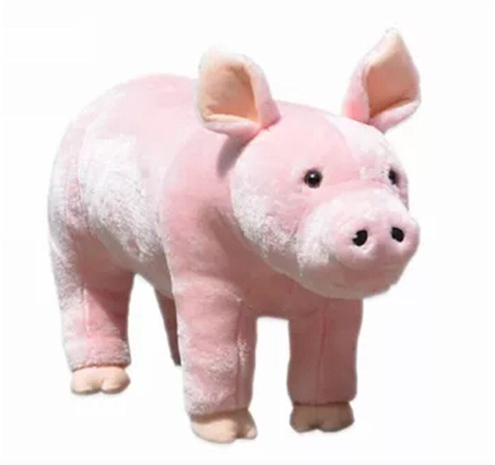 Fancytrader кататься на свиньи плюшевые игрушки эмуляция свиньи животные Дети кукла может нагрузить 50 кг на спине - Высота: 40cm 16inch