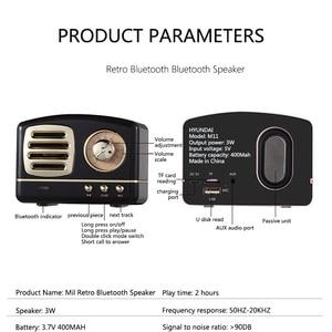 Image 5 - الشمال بلوتوث سماعات راديو صغيرة تعمل لاسلكيًا الرجعية البسيطة ميكرفون بلوتوث محمول راديو USB/TF بطاقة مشغل موسيقى مضخم ديكور